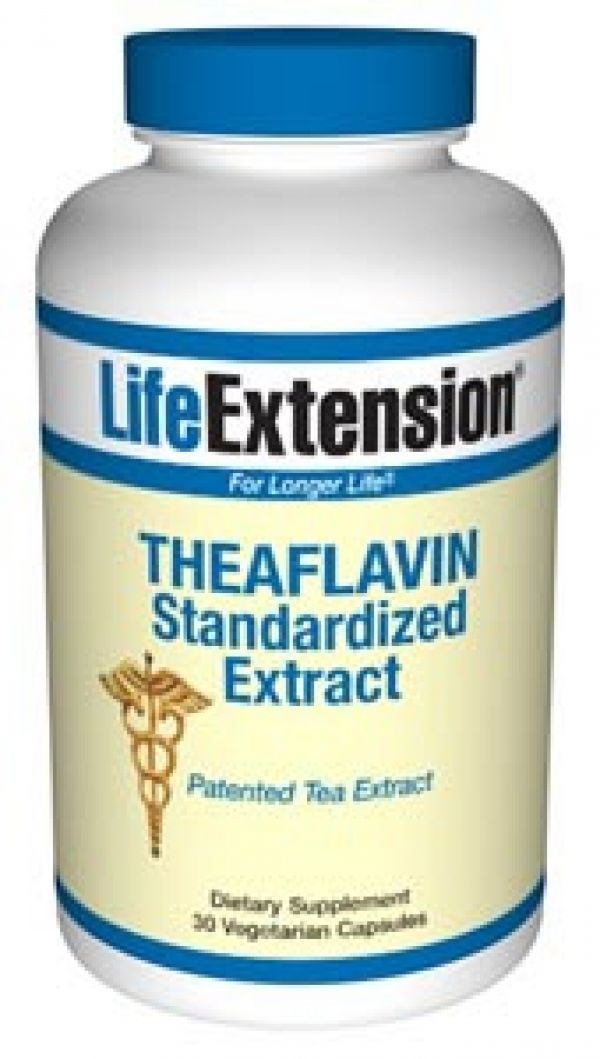 Life Extension Theaflavins Standardized Extract 30 Vegecaps