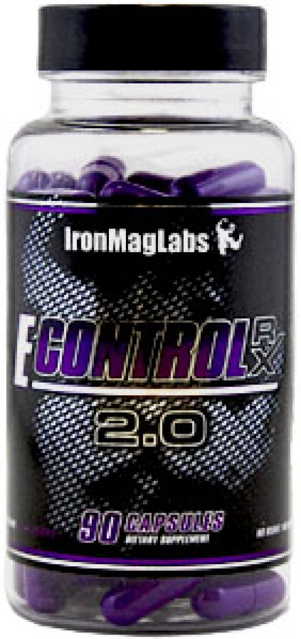 IronMag Labs E-Control Rx 2.0 90 Caps