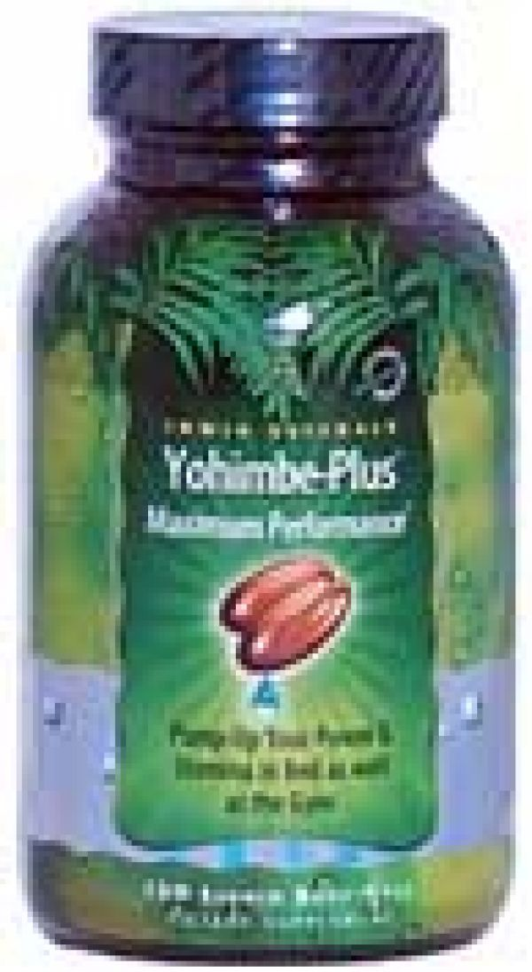 Irwin Naturals Advanced Yohimbe Plus 100 Liquid Soft Gels