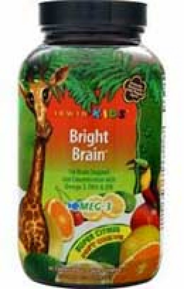 Irwin Naturals Kids Bright Brain Super Citrus 30 Chews