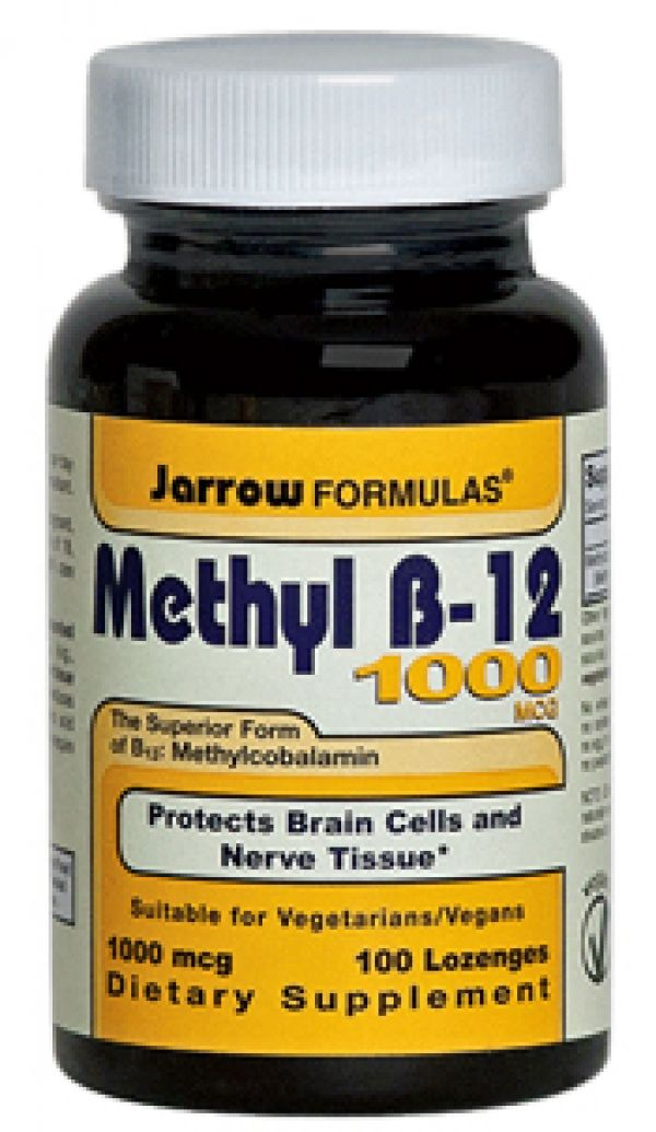 Jarrow Formulas Methyl B-12 1000mcg Vitamin B-12