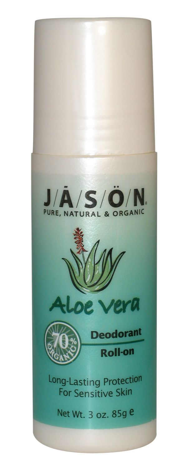 Jason Aloe Vera Deoderant Roll On 3 Oz.
