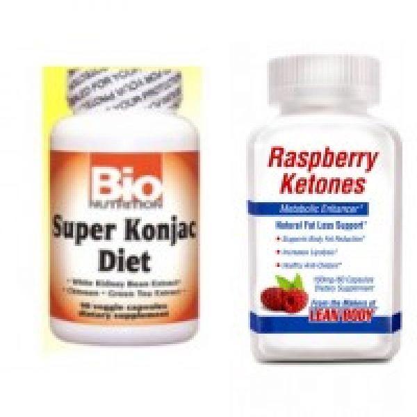 Raspberry Ketones & Konjac Root