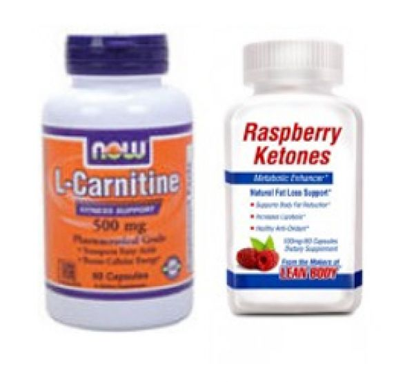 L-carnitine raspberry ketones