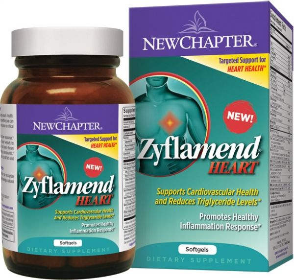 New Chapter Zyflamend Heart 60 Soft Gels