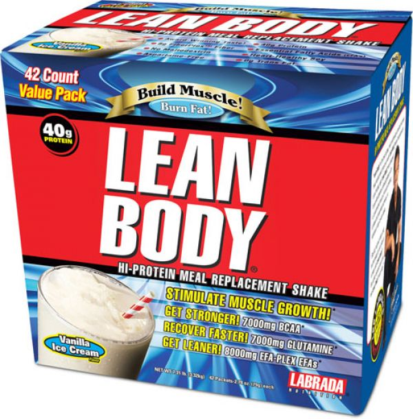 Labrada Nutrition Lean Body Original MRP 42 Pack