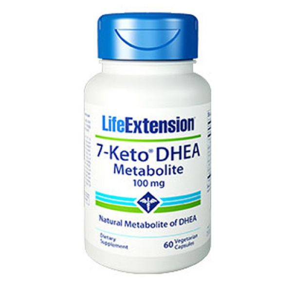 Life Extension 7-Keto DHEA Metabolite 100mg 60 Vege caps