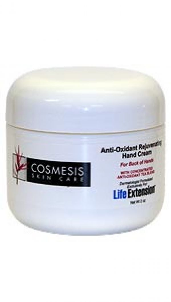 Life Extension Anti-Oxidant Rejuvenating Hand Cream 2 oz