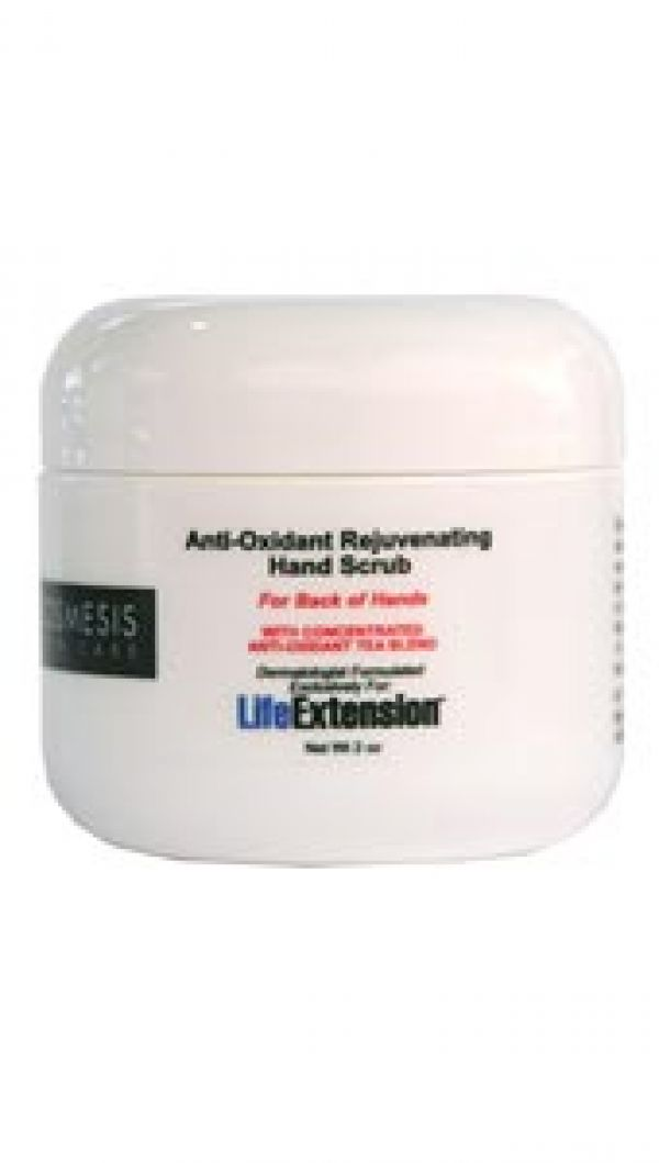 Life Extension Anti-Oxidant Rejuvenating Hand Scrub 2 oz
