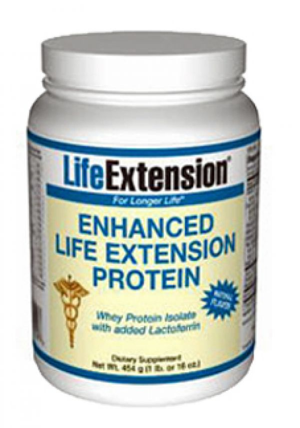 Life Extension Enhanced Whey Protein (Natural) 1Lb