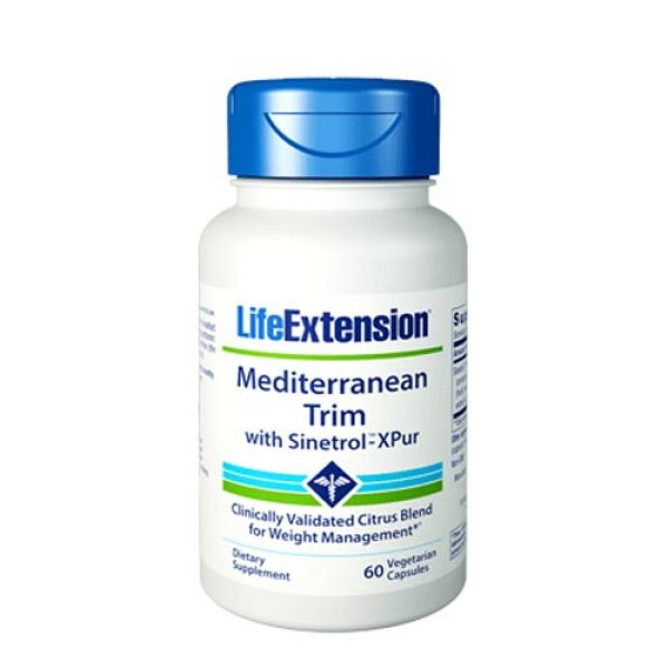 Life Extension Mediterranean Trim w/ Sinetrol-XPur 60 VC