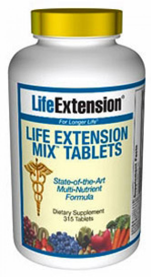 Life Extension Mix TABS 315 Tabs