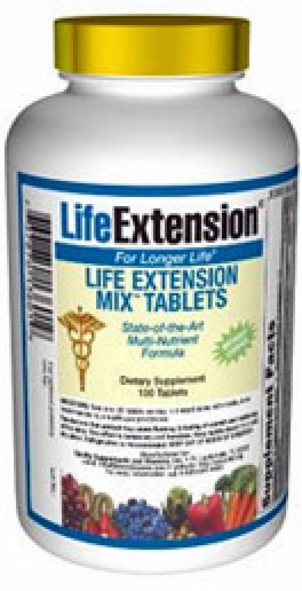 Life Extension Mix TABS without Copper 100 Tabs