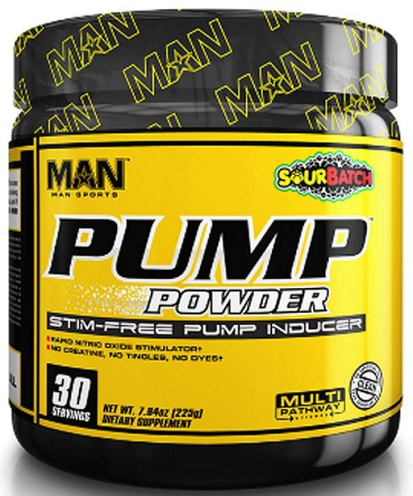 MAN Pump Powder 30 Servings