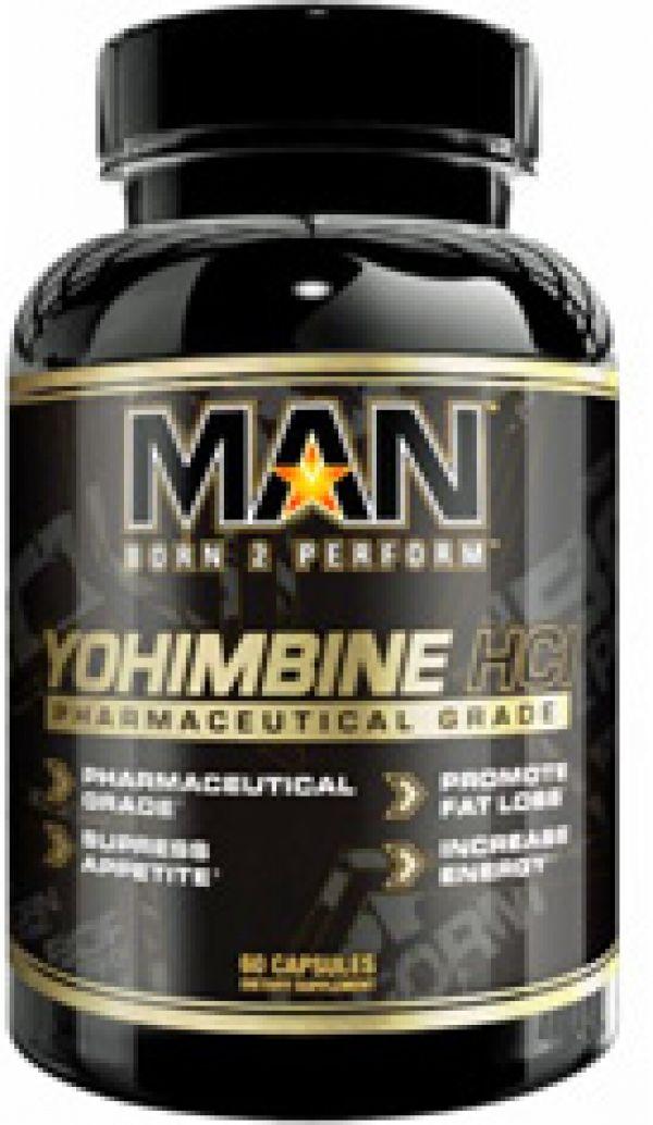 MAN Yohimbine HCL 60 Caps