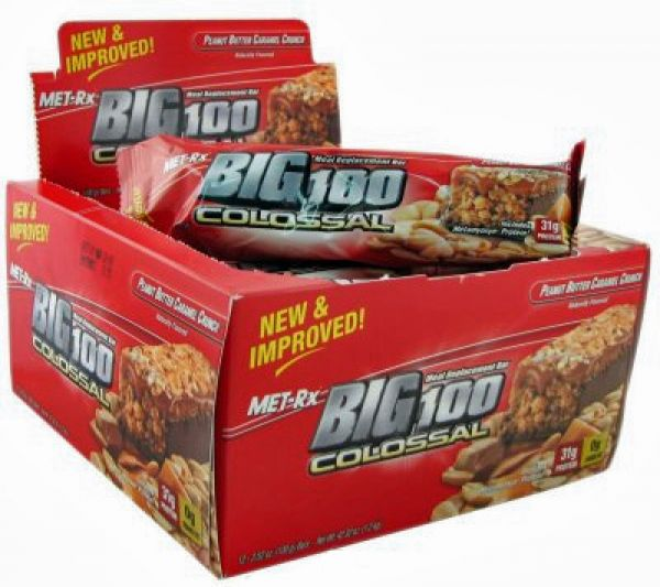 Met-Rx Big 100 Colossal Bars 12/Box