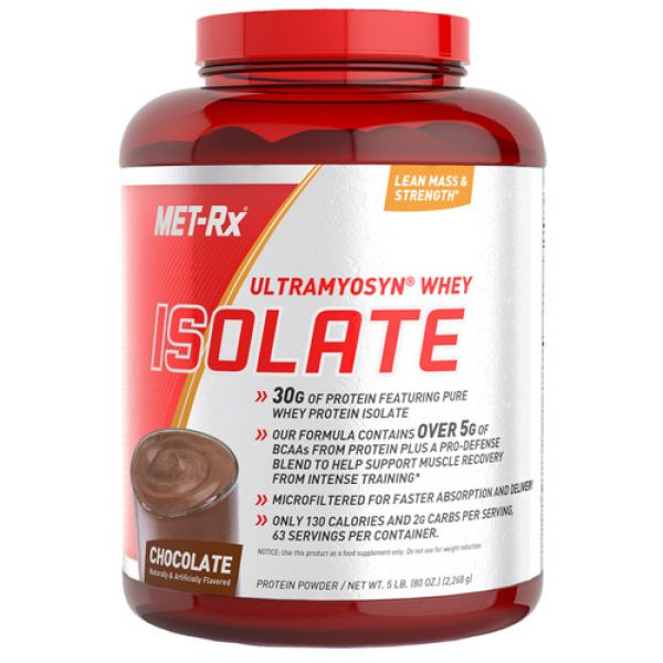 Met-Rx Ultramyosyn Whey Isolate 5 lb