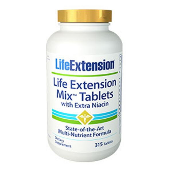 Life Extension Mix TABS with Extra Niacin