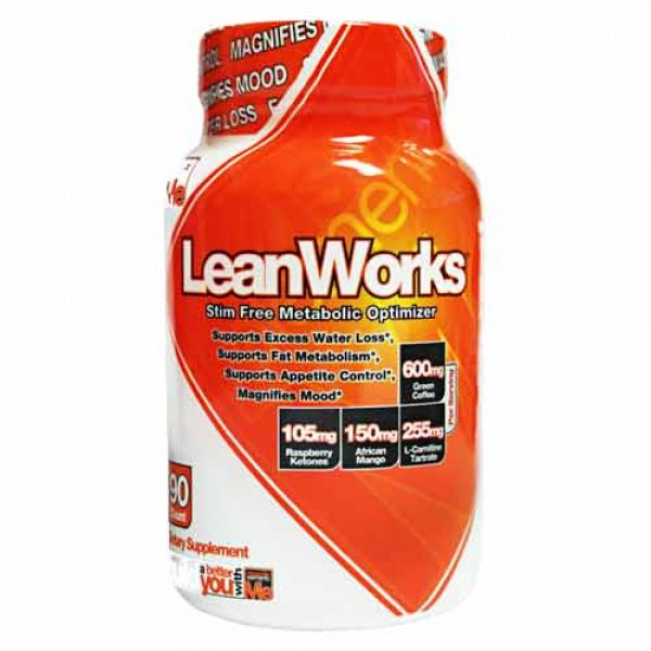 Muscle Elements Leanworks 90 Caps