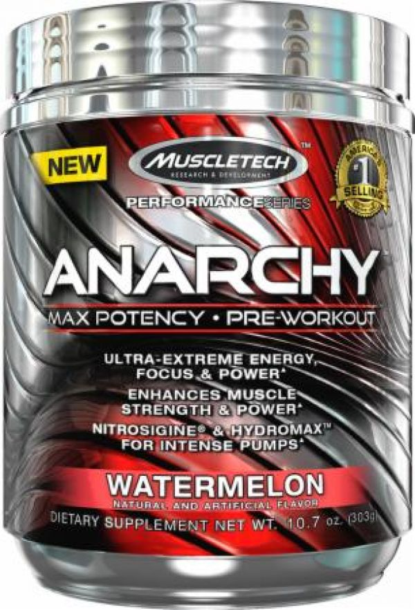 MuscleTech Anarchy 60 Servings