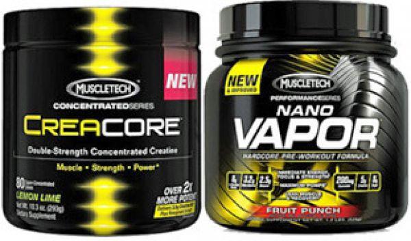 Muscletech CreaCore & NanoVapor Stack