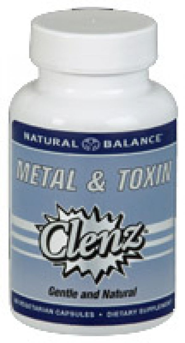 Natural Balance Metal and Toxin Cleanse 60 Caps