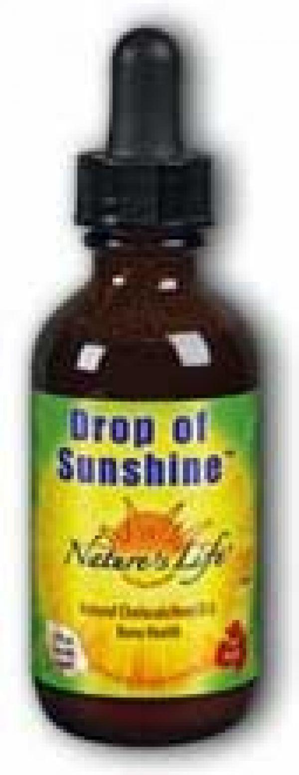 Nature's Life Drop of Sunshine Natural Vitamin D-3 2 fl oz