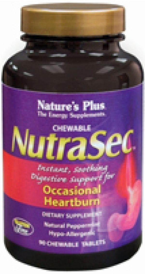Nature's Plus NutraSec 90 Chews