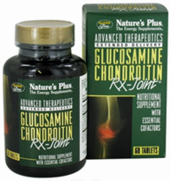 Nature's Plus RX Joint (Glucosamine/Chondroitin) 60 tabs