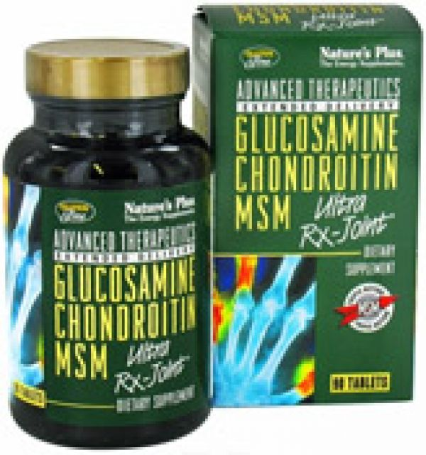 Nature's Plus Ultra Rx-Joint (Glucosamine/Chondroitin/MSM) 90 Tabs