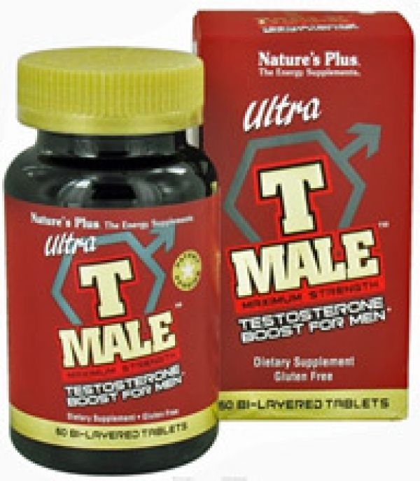 Nature's Plus Ultra T-Male 60 Tabs