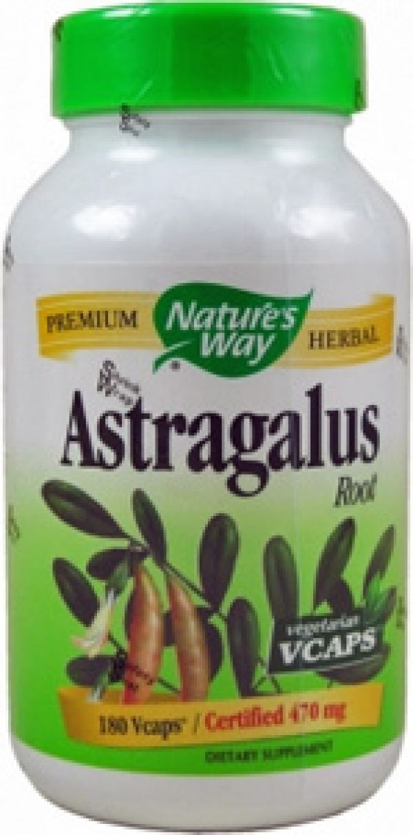 Nature's Way Astragalus Root 470mg 180 Caps
