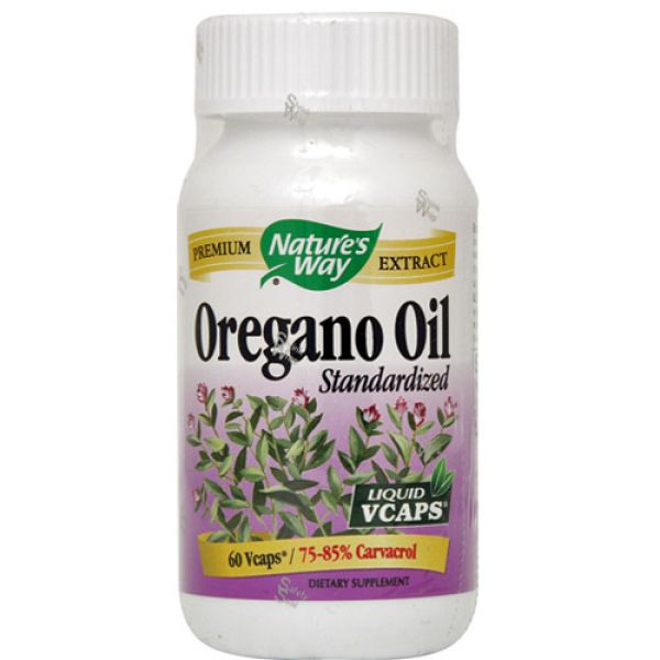 Nature's Way Oregano Oil 60 Vege Caps