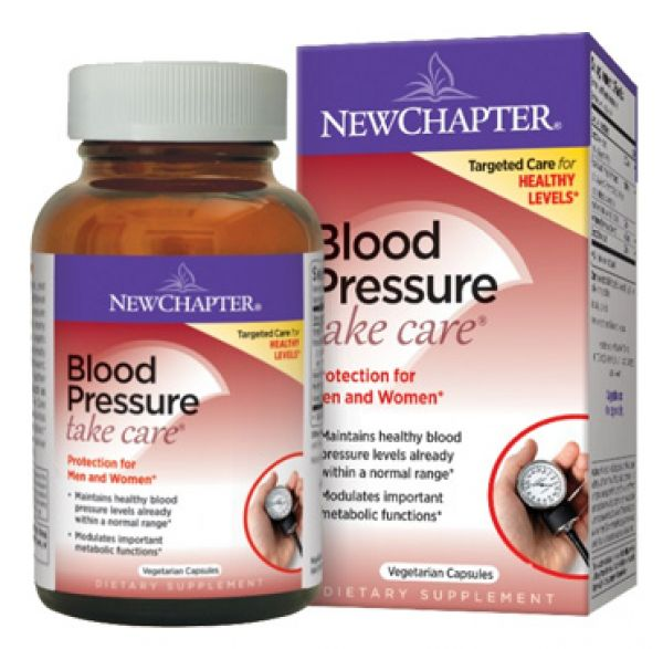 New Chapter Blood Pressure Take Care 30 Vege Caps