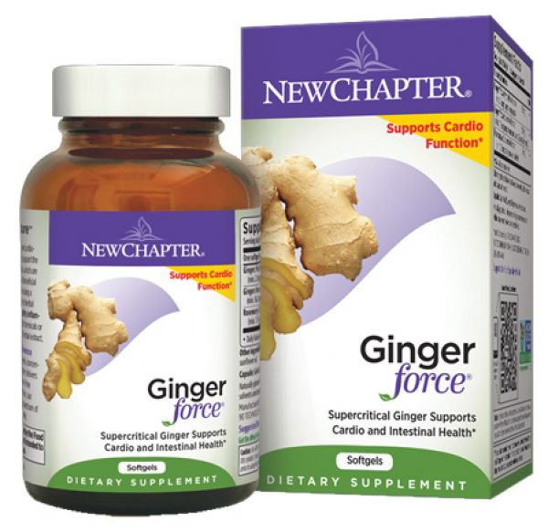 New Chapter Ginger Force 60 Gels