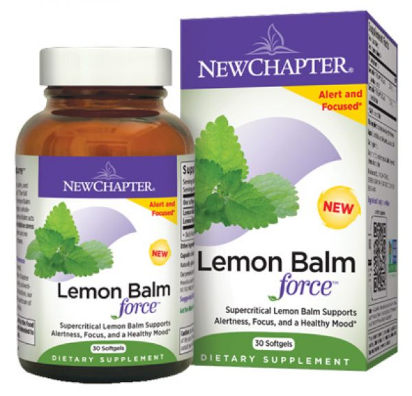 New chapter lemon balm
