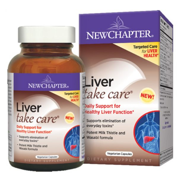 New Chapter Liver Take Care 60 Vege Caps
