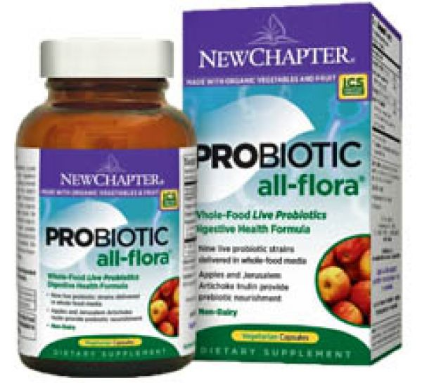 New Chapter Probiotic All-Flora 60 Vege Caps