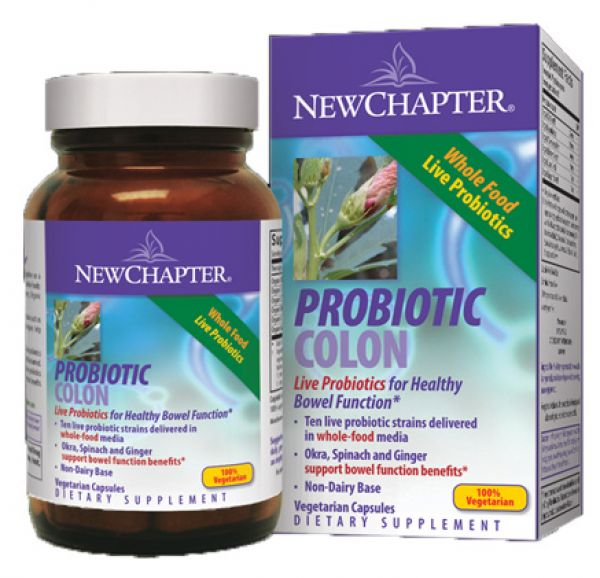 New Chapter Probiotic Colon 90 Vege Caps