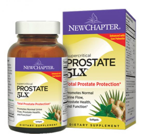 New Chapter Prostate 5LX 120 Soft Gels