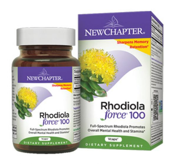New Chapter Rhodiola Force 100 30 Vege Caps