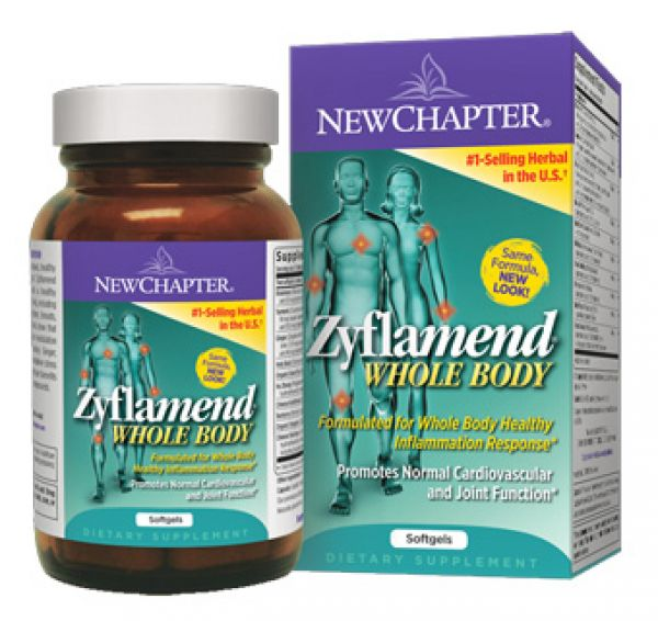 New Chapter Zyflamend 180 Soft Gels