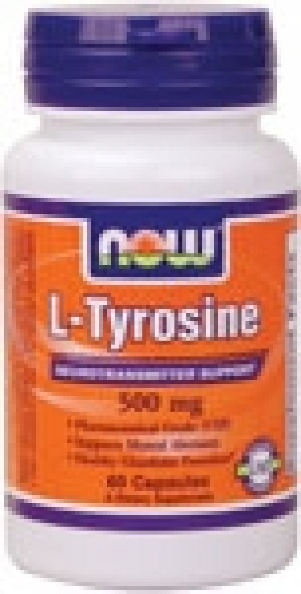 L tyrosine now foods