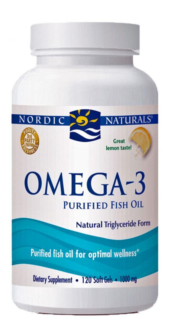 Nordic Naturals Omega-3 120 SoftGels