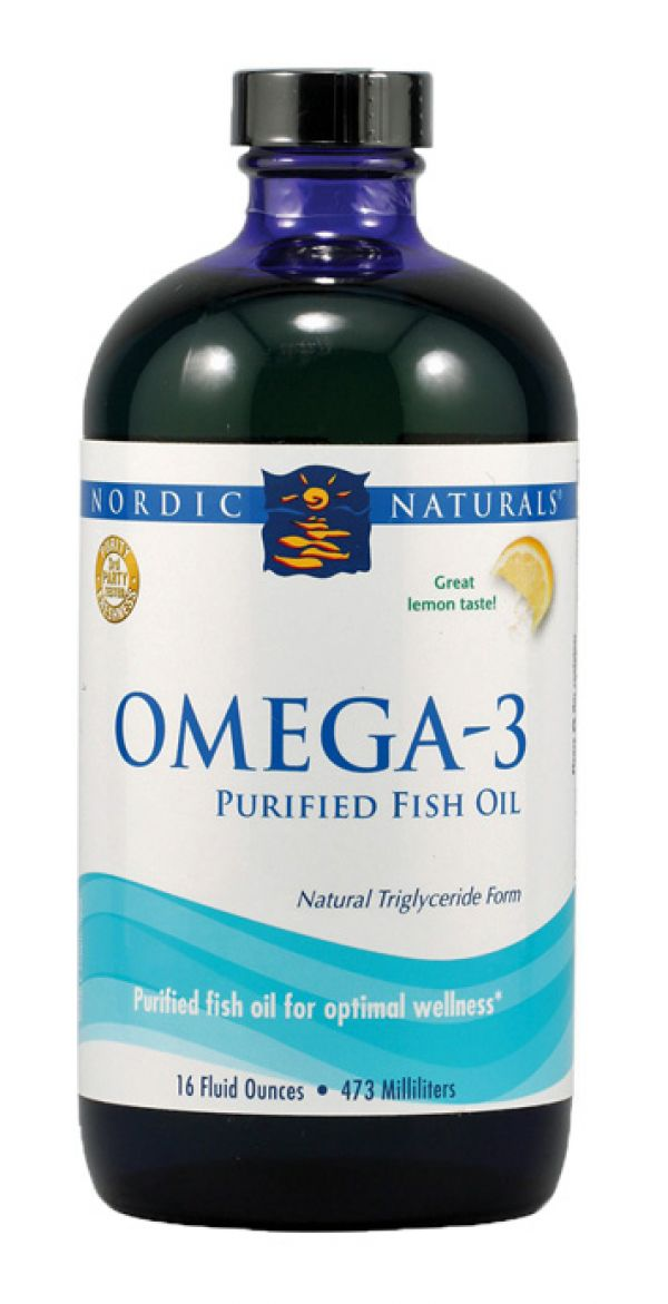 nordic naturals omega 3 liquid lemon epa dha fish oil 16 fl oz