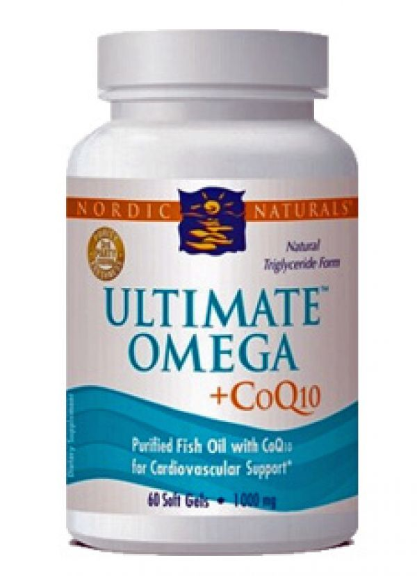 Nordic Naturals Ultimate Omega + CoQ10 Heart Health