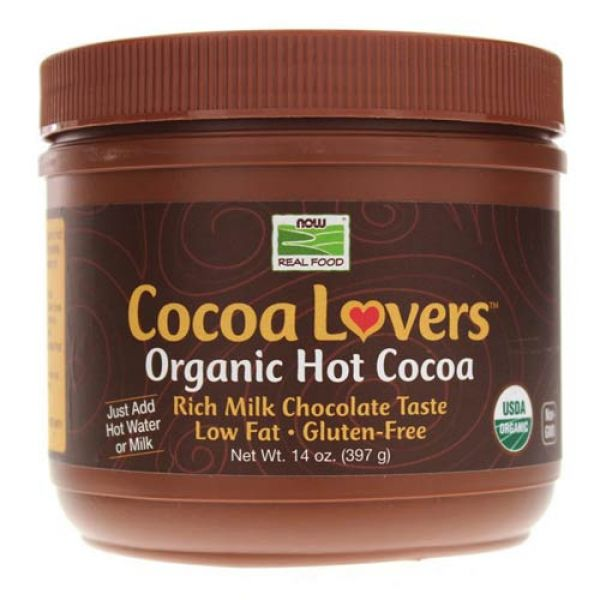 Now Foods Hot Cocoa Organic Mix 14 Oz