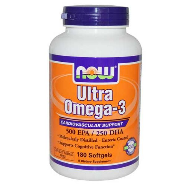Now foods ultra omega 3 fish oil 180 softgels for Fish oil brands