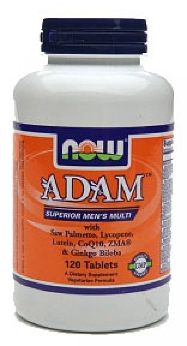 Now Foods Adam Superior Men's Multi 120 Tabs