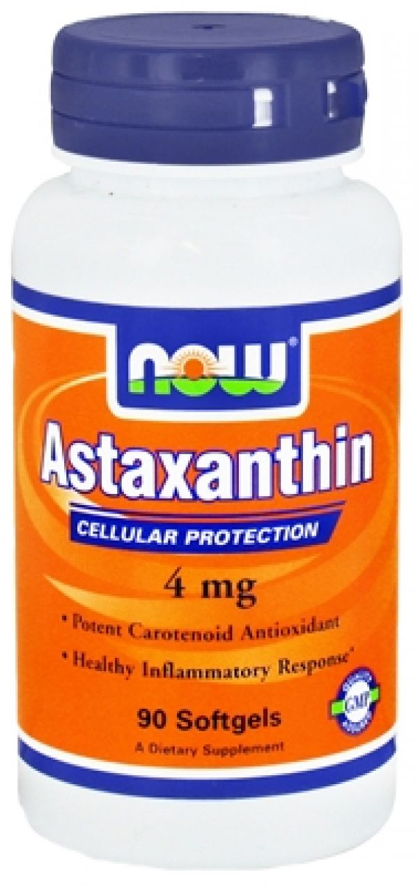 Now Foods Astaxanthin 4mg 90 Gels
